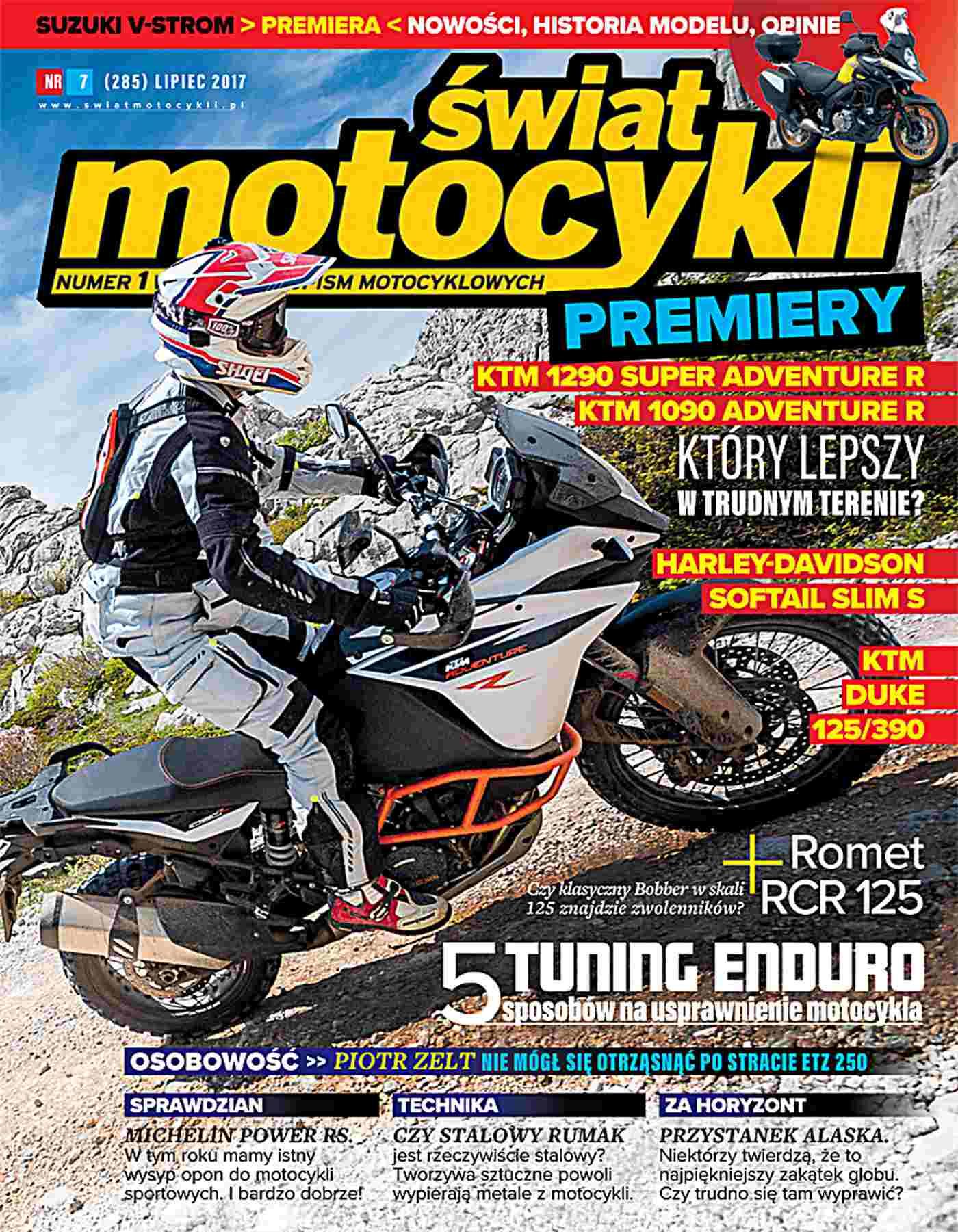 Świat Motocykli 7/2017 - Ebook (Książka PDF) do pobrania w formacie PDF