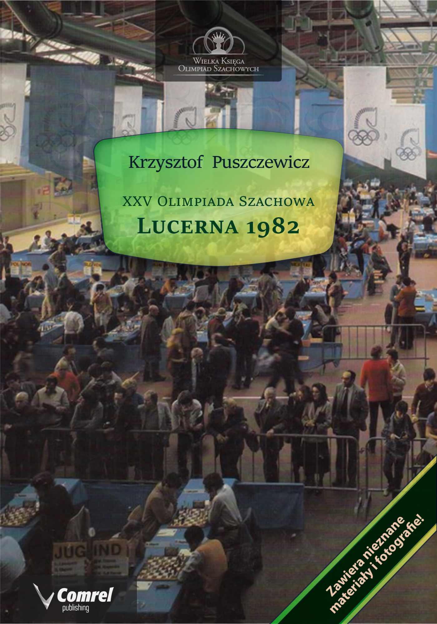 XXV Olimpiada Szachowa - Lucerna 1982 - Ebook (Książka PDF) do pobrania w formacie PDF