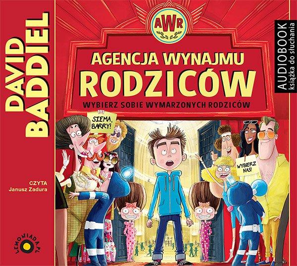 Agencja Wynajmu Rodziców - Audiobook (Książka audio MP3) do pobrania w całości w archiwum ZIP