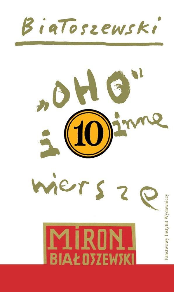 """""""Oho"""" i inne wiersze - Ebook (Książka EPUB) do pobrania w formacie EPUB"""