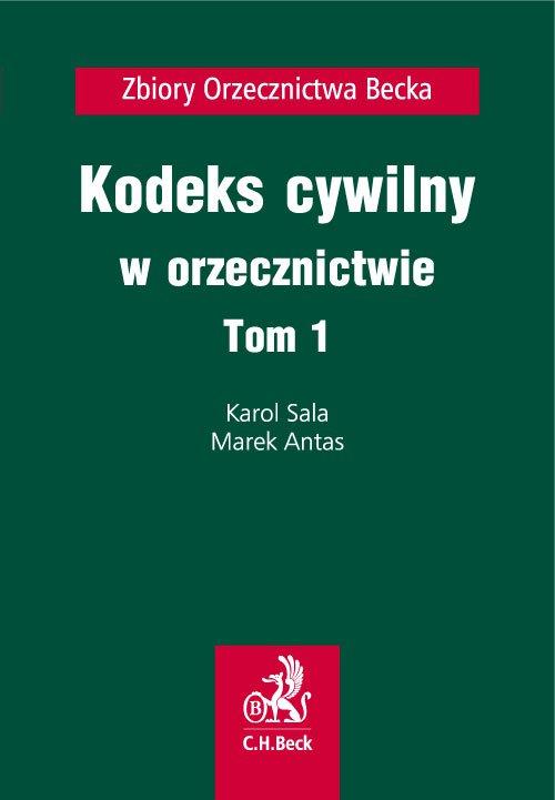Kodeks cywilny w orzecznictwie. Tom 1 - Ebook (Książka PDF) do pobrania w formacie PDF