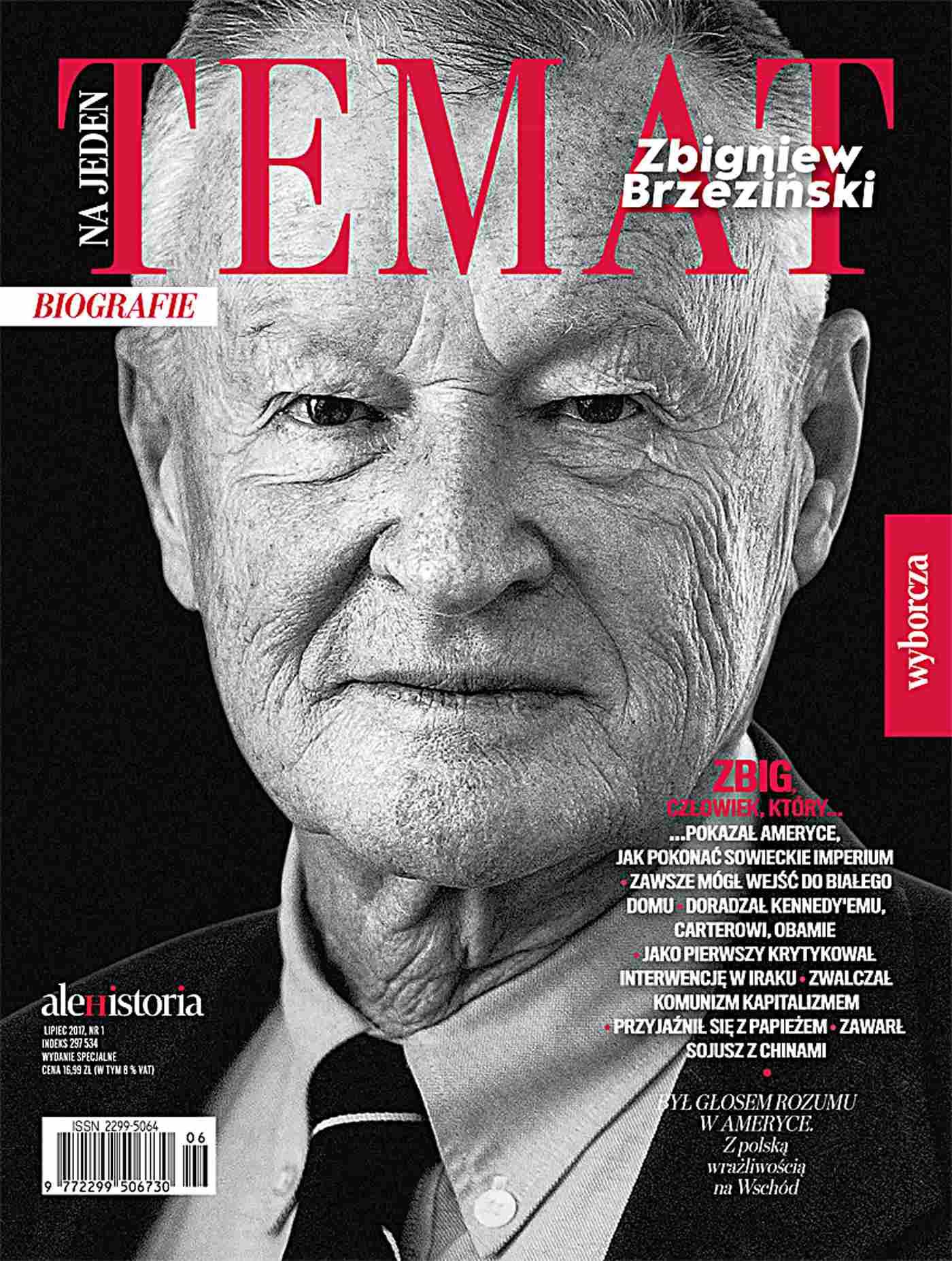 Ale Historia. Na jeden temat. Zbigniew Brzezinski 1/2017 - Ebook (Książka EPUB) do pobrania w formacie EPUB