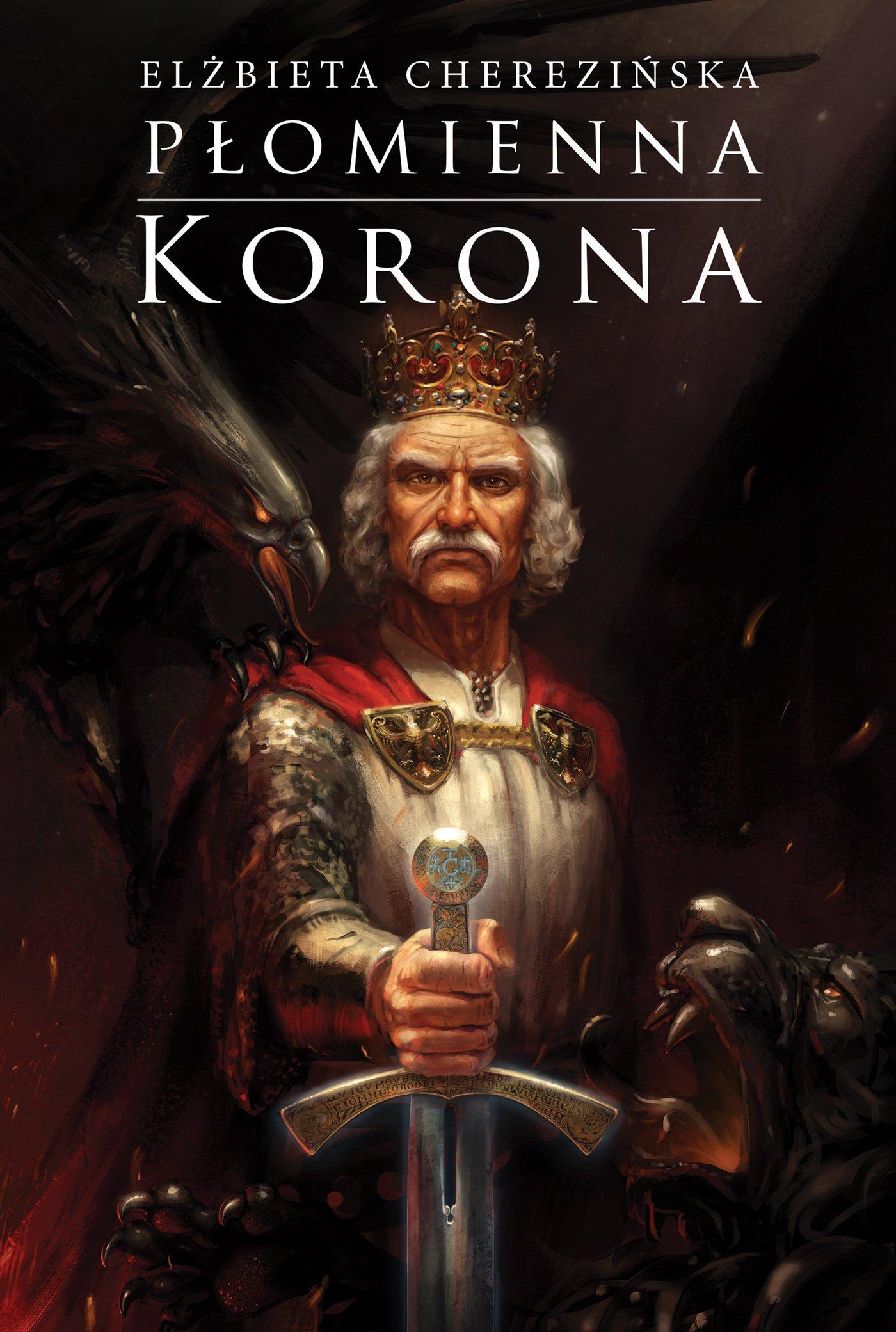 Płomienna korona - Ebook (Książka na Kindle) do pobrania w formacie MOBI