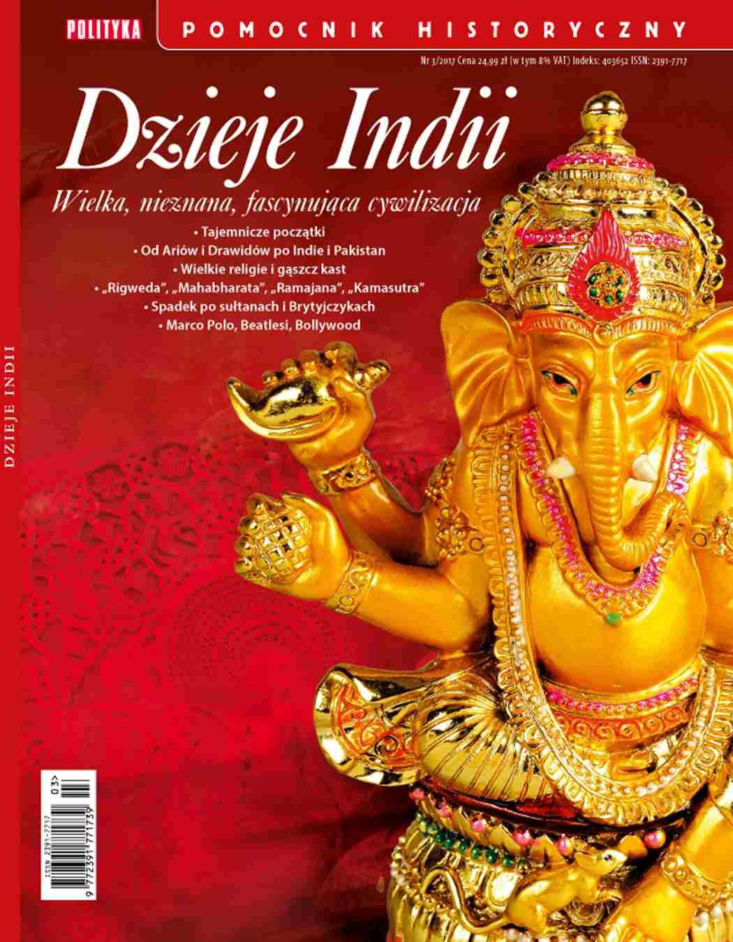 Pomocnik Historyczny. Dzieje Indii - Ebook (Książka PDF) do pobrania w formacie PDF