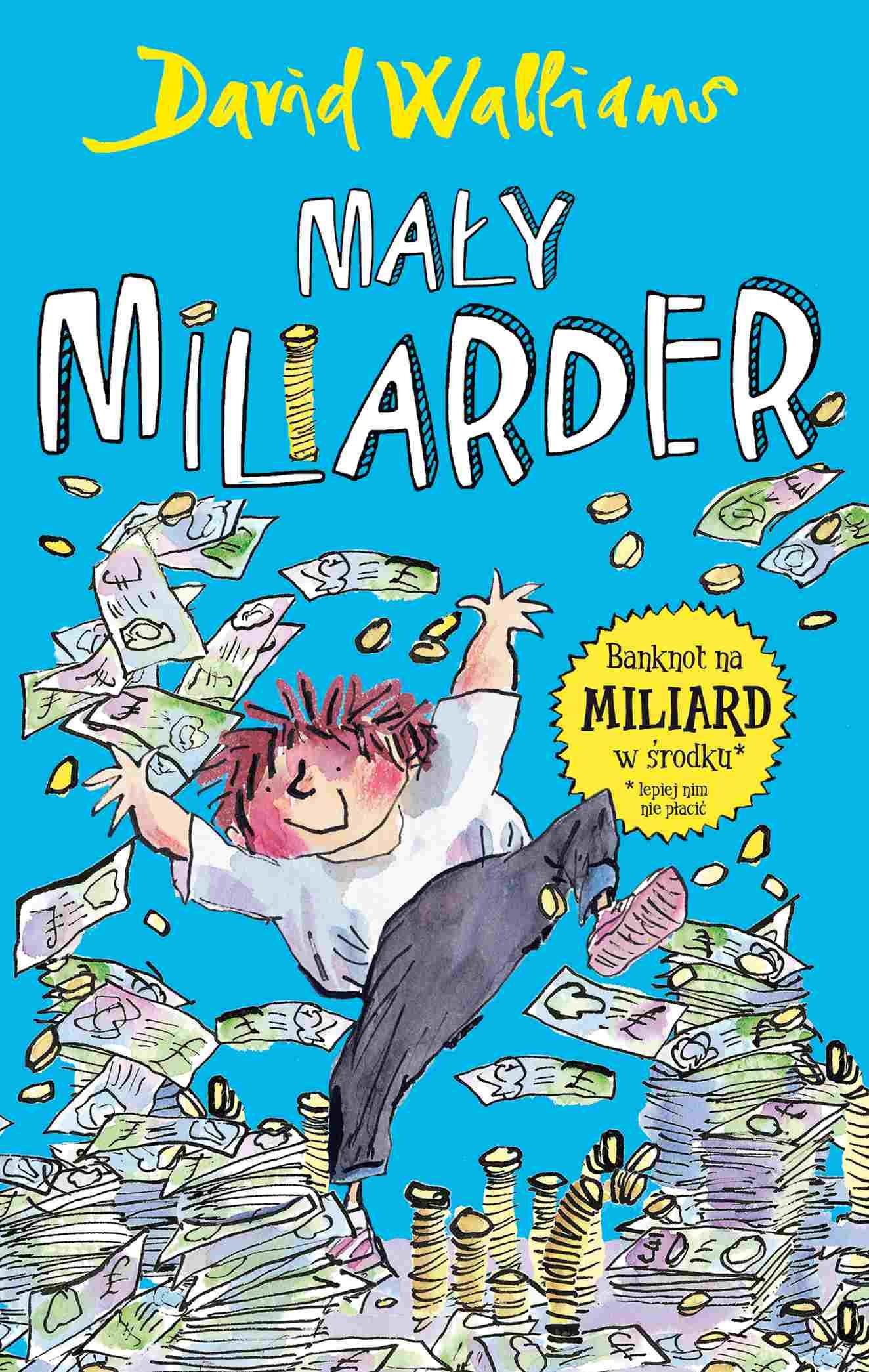 Mały miliarder - Ebook (Książka na Kindle) do pobrania w formacie MOBI