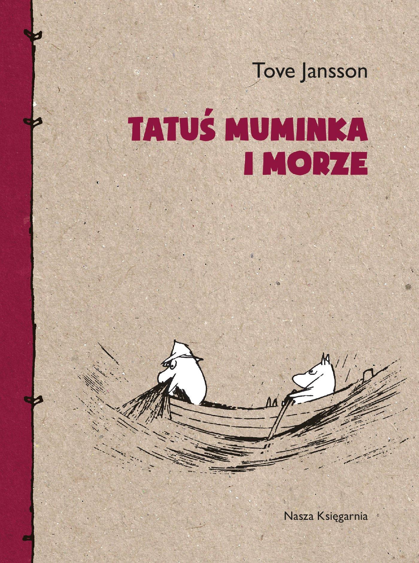 Tatuś Muminka i morze - Ebook (Książka na Kindle) do pobrania w formacie MOBI