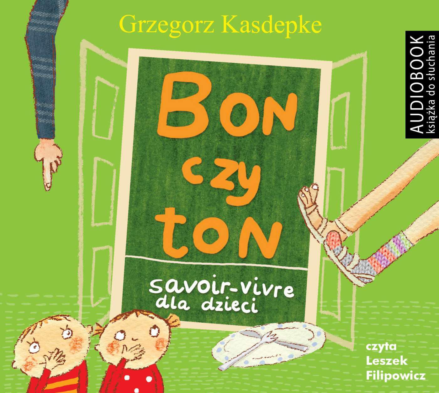 Bon czy ton. Savoir- vivre dla dzieci wyd. 2 - darmowy fragment - Audiobook (Książka audio MP3) do pobrania w całości w archiwum ZIP