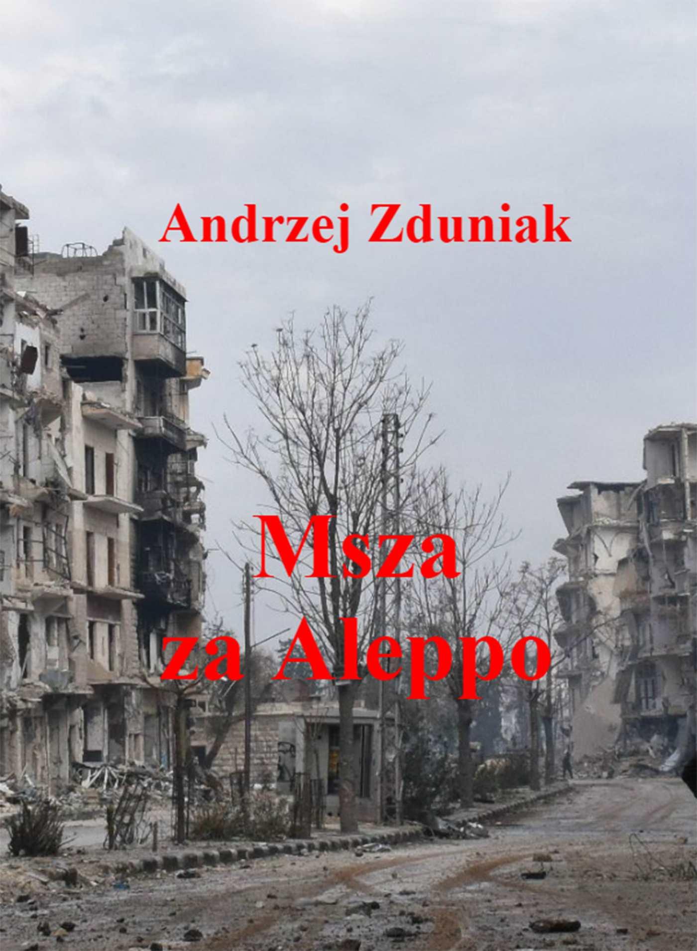 Msza za Aleppo - Ebook (Książka EPUB) do pobrania w formacie EPUB