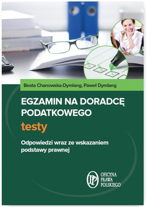 Egzamin na doradcę podatkowego. Testy - Ebook (Książka PDF) do pobrania w formacie PDF