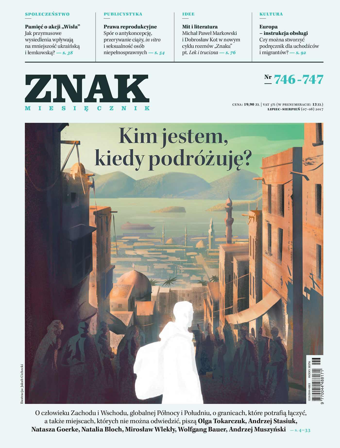 Miesięcznik Znak nr 746-747: Kim jestem, kiedy podróżuję? - Ebook (Książka na Kindle) do pobrania w formacie MOBI