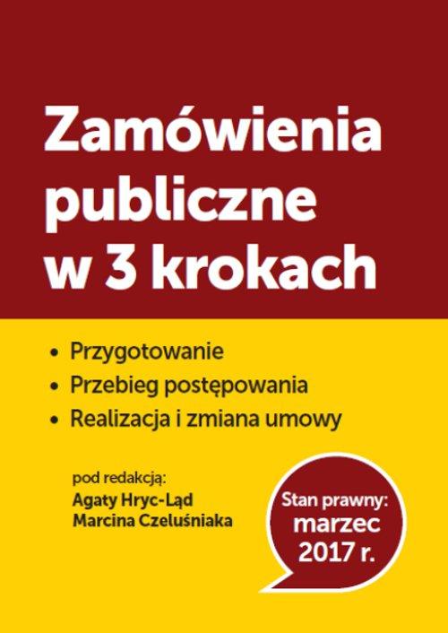 Zamówienia publiczne w 3 krokach - Ebook (Książka PDF) do pobrania w formacie PDF
