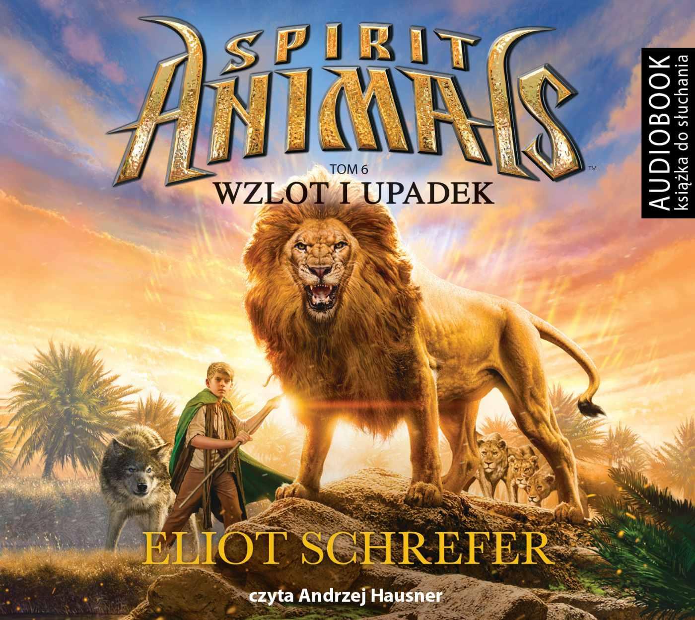 Spirit Animals. Tom 6. Wzlot i upadek - Audiobook (Książka audio MP3) do pobrania w całości w archiwum ZIP