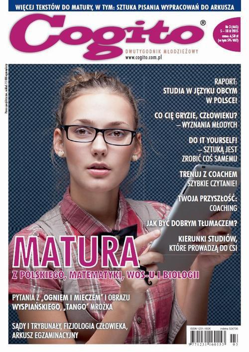 Cogito nr 3 (465) - Ebook (Książka PDF) do pobrania w formacie PDF