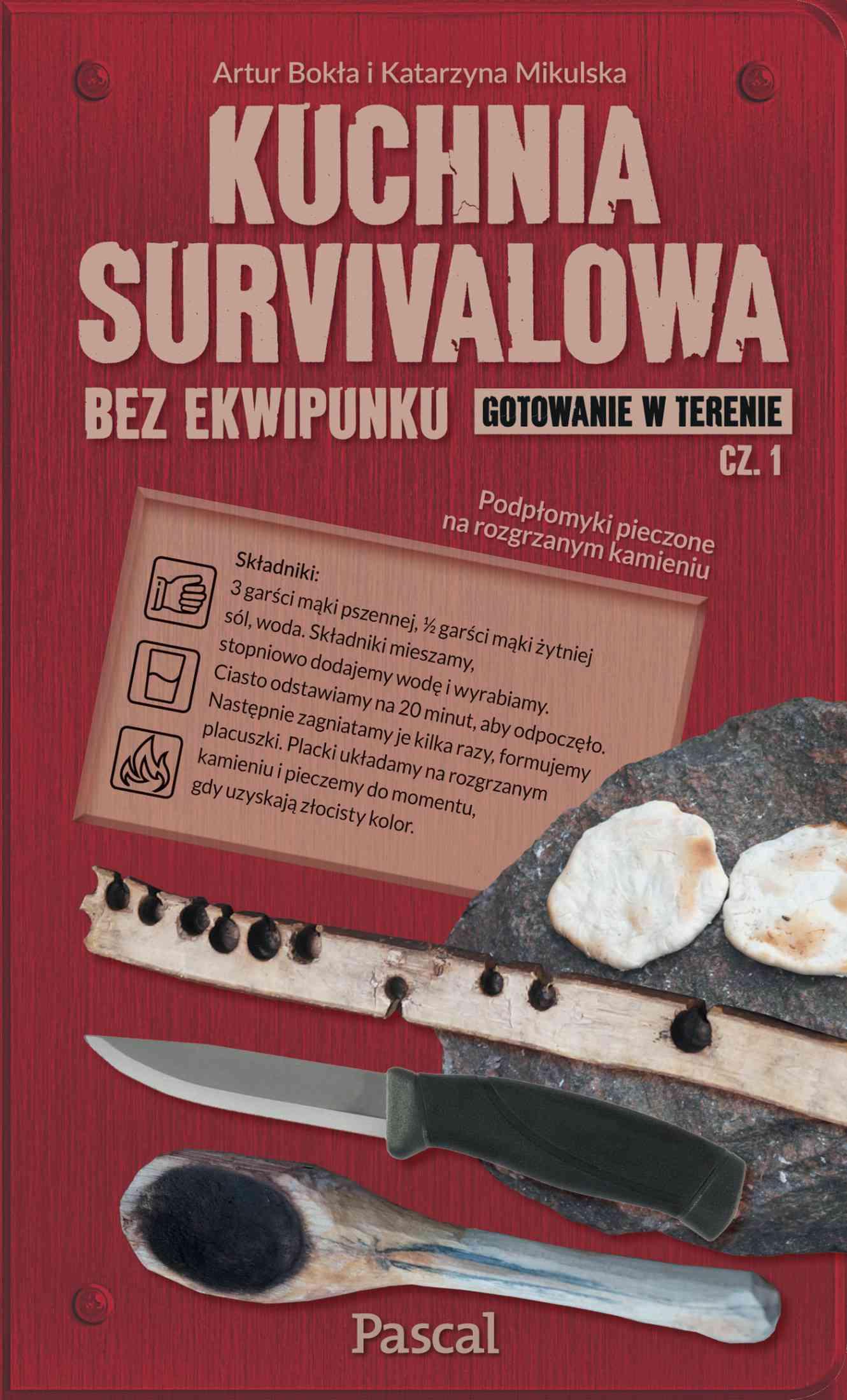 Kuchnia survivalowa. Część 1 - Ebook (Książka EPUB) do pobrania w formacie EPUB