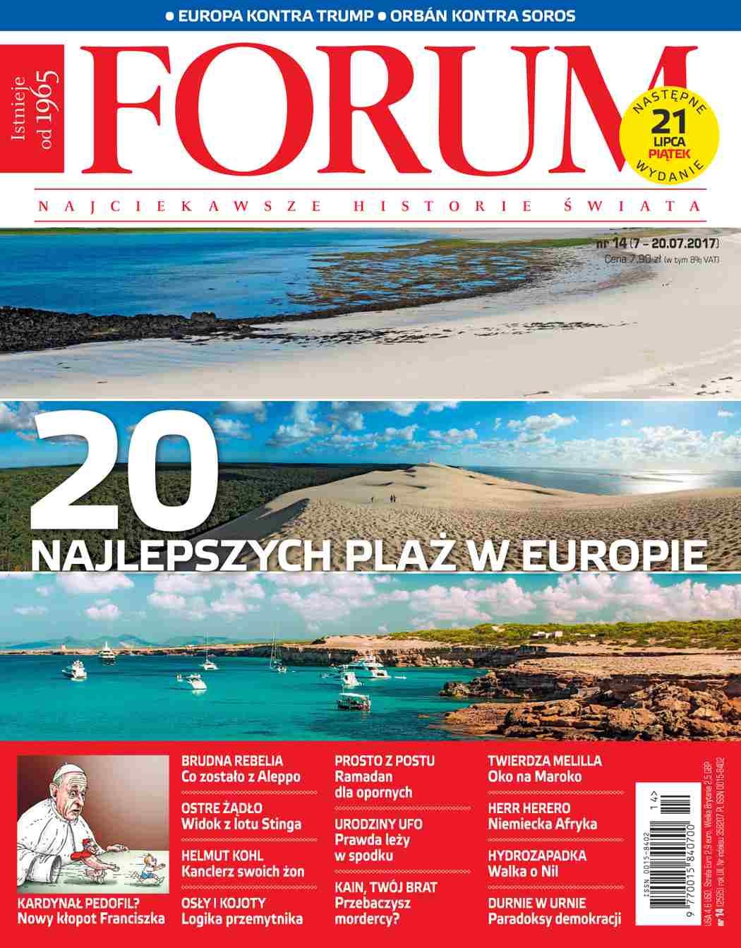 Forum nr 14/2017 - Ebook (Książka PDF) do pobrania w formacie PDF