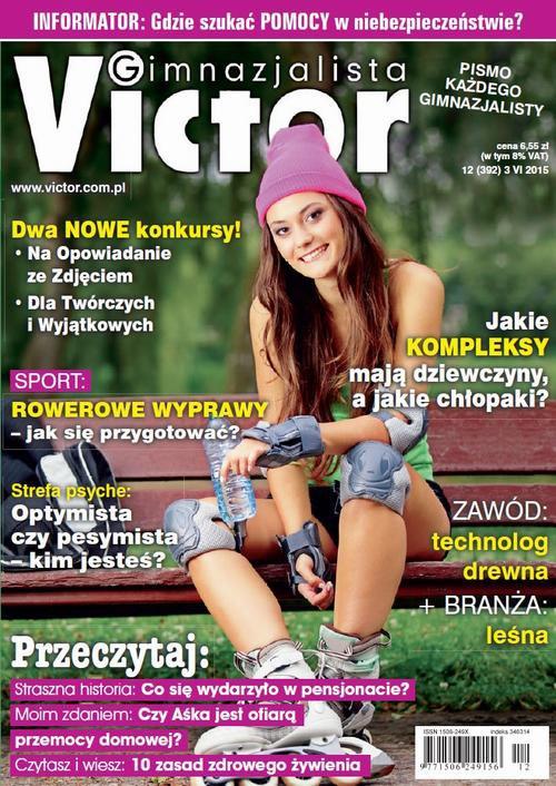 Victor Gimnazjalista nr 12 (392) - Ebook (Książka PDF) do pobrania w formacie PDF