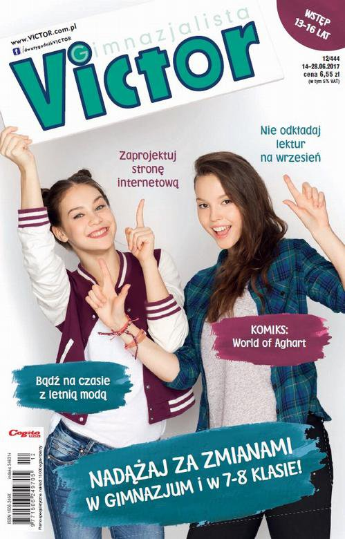 Victor Gimnazjalista nr 12 (444) - Ebook (Książka PDF) do pobrania w formacie PDF
