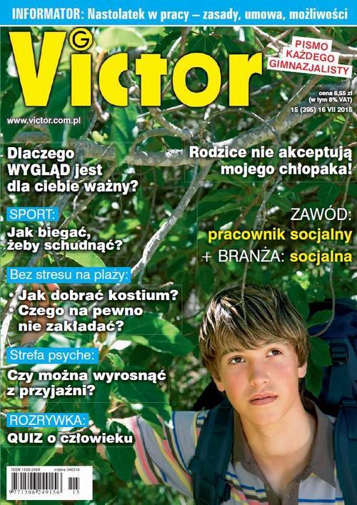 Victor Gimnazjalista nr 15 (395) - Ebook (Książka PDF) do pobrania w formacie PDF
