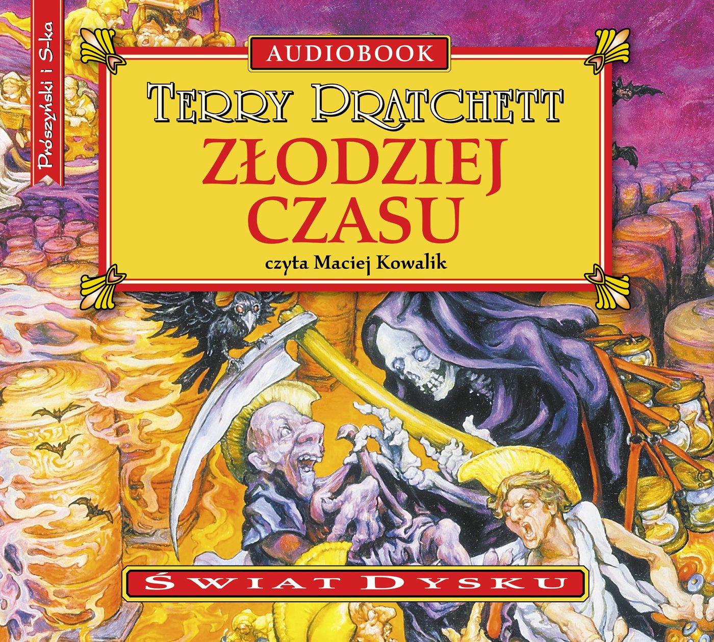 Złodziej czasu - Audiobook (Książka audio MP3) do pobrania w całości w archiwum ZIP