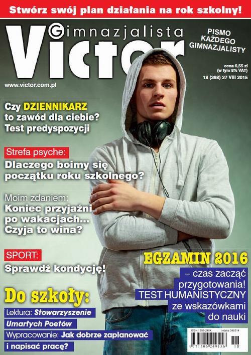 Victor Gimnazjalista nr 18 (398) - Ebook (Książka PDF) do pobrania w formacie PDF