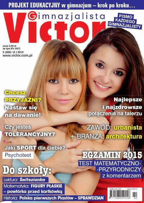 Victor Gimnazjalista nr 2 (382) - Ebook (Książka PDF) do pobrania w formacie PDF