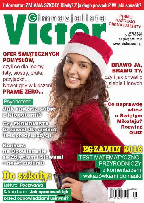 Victor Gimnazjalista nr 25 (405) - Ebook (Książka PDF) do pobrania w formacie PDF