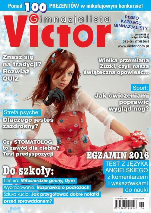 Victor Gimnazjalista nr 26 (406) - Ebook (Książka PDF) do pobrania w formacie PDF
