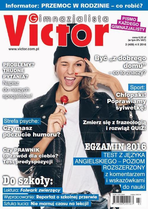 Victor Gimnazjalista nr 3 (409) - Ebook (Książka PDF) do pobrania w formacie PDF