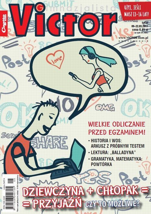 Victor Gimnazjalista nr 5 (437) - Ebook (Książka PDF) do pobrania w formacie PDF