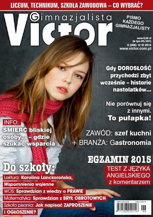 Victor Gimnazjalista nr 6 (386) - Ebook (Książka PDF) do pobrania w formacie PDF