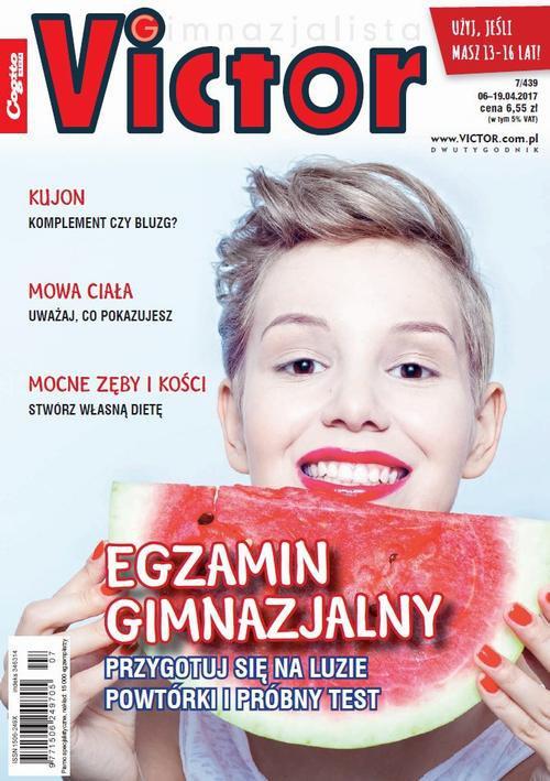 Victor Gimnazjalista nr 7 (439) - Ebook (Książka PDF) do pobrania w formacie PDF