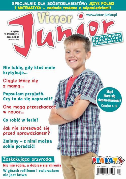Victor Junior nr 1 (273) - Ebook (Książka PDF) do pobrania w formacie PDF