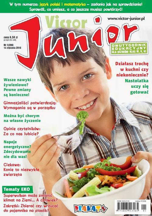 Victor Junior nr 1 (299) - Ebook (Książka PDF) do pobrania w formacie PDF