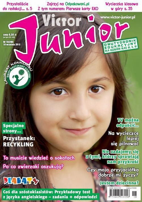 Victor Junior nr 18 (290) - Ebook (Książka PDF) do pobrania w formacie PDF