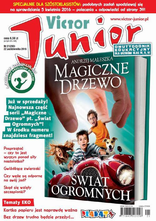 Victor Junior nr 21 (293) - Ebook (Książka PDF) do pobrania w formacie PDF