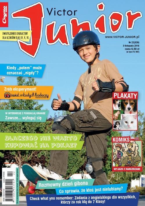 Victor Junior nr 22 (320) - Ebook (Książka PDF) do pobrania w formacie PDF