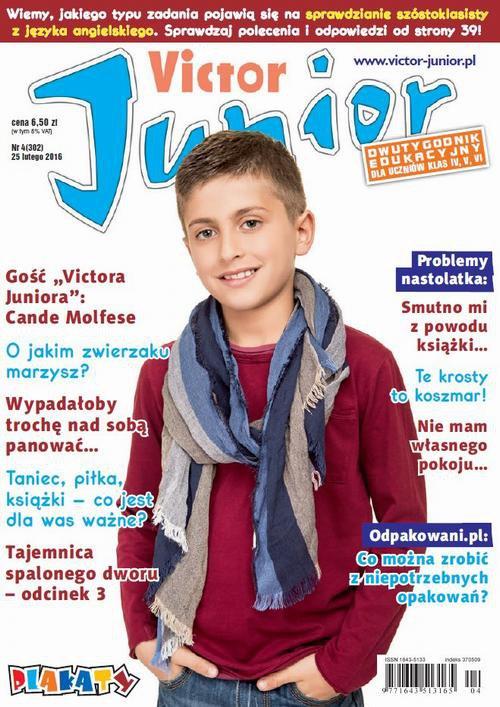 Victor Junior nr 4 (302) - Ebook (Książka PDF) do pobrania w formacie PDF