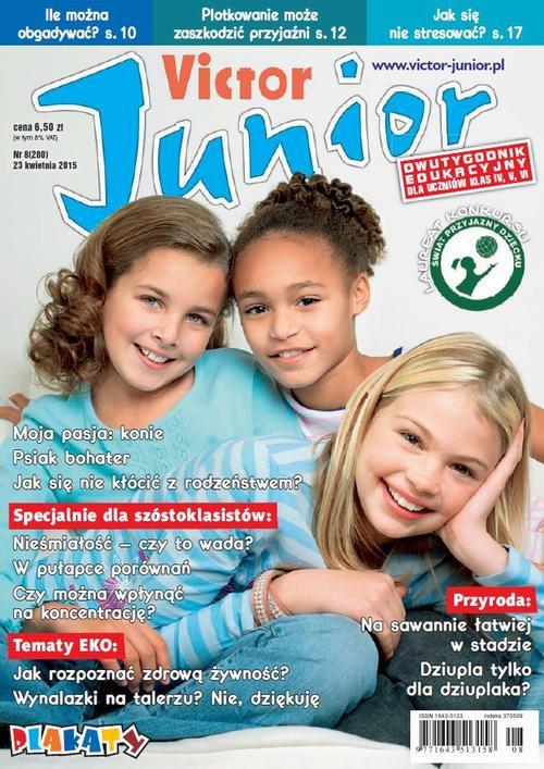 Victor Junior nr 8 (280) - Ebook (Książka PDF) do pobrania w formacie PDF