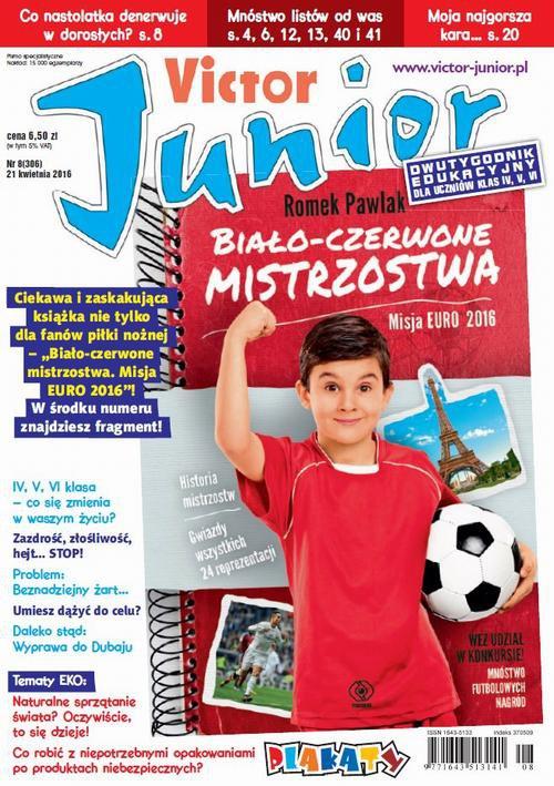 Victor Junior nr 8 (306) - Ebook (Książka PDF) do pobrania w formacie PDF