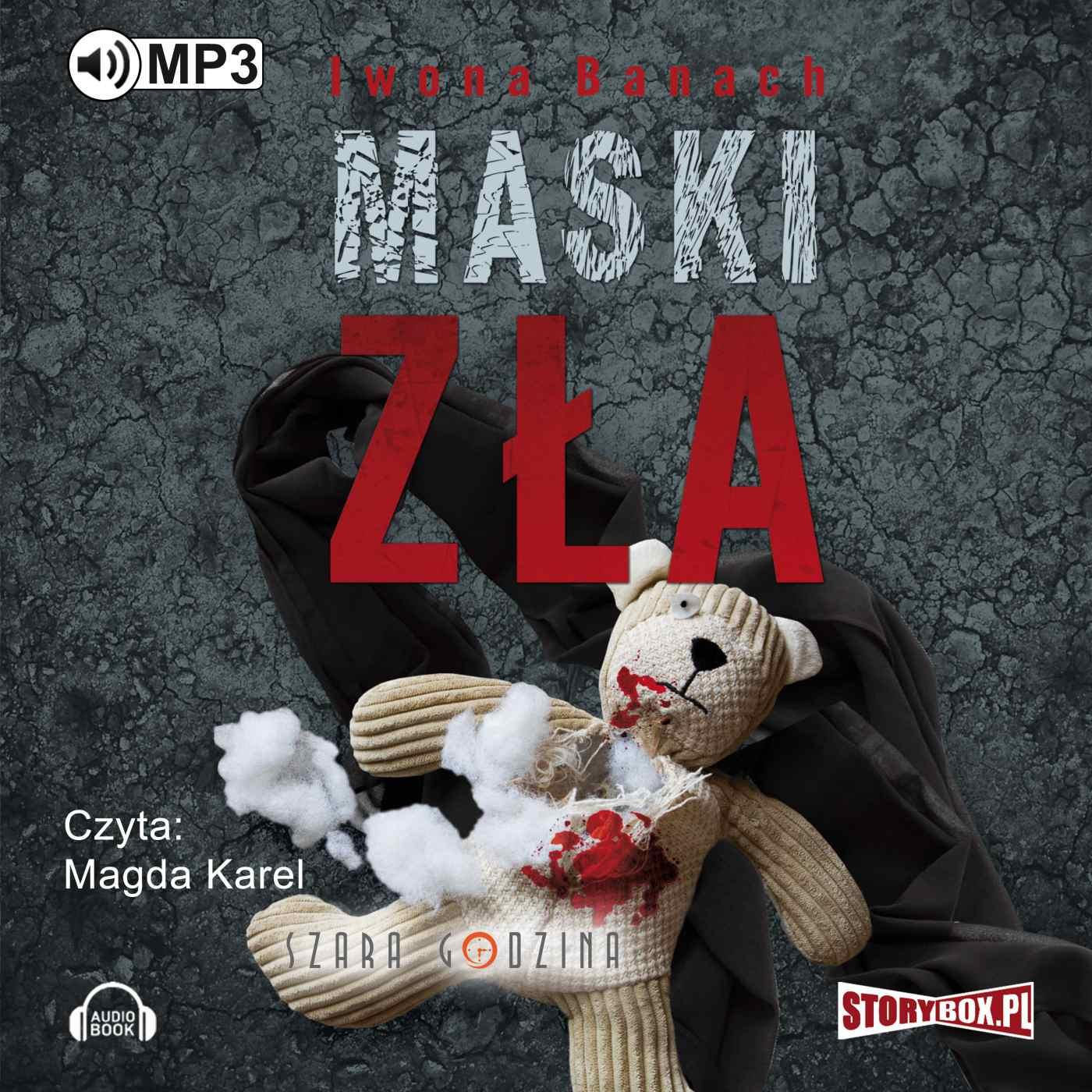 Maski zła - Audiobook (Książka audio MP3) do pobrania w całości w archiwum ZIP