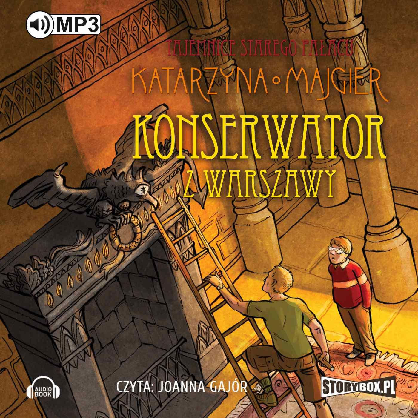 Tajemnice starego pałacu. Konserwator z Warszawy - Audiobook (Książka audio MP3) do pobrania w całości w archiwum ZIP