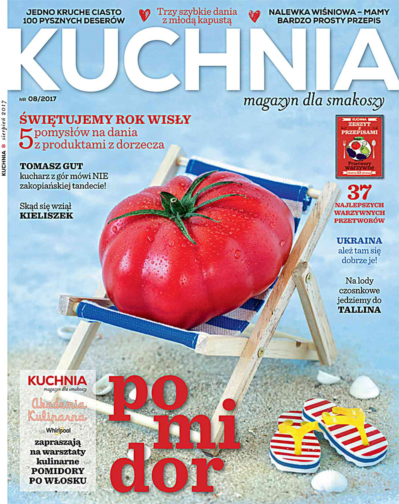Kuchnia 8/2017 - Ebook (Książka PDF) do pobrania w formacie PDF