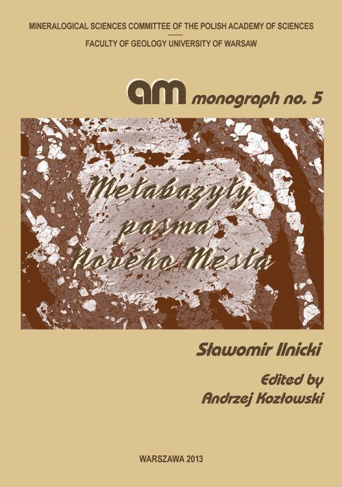 Metabazyty pasma Nového Města - Ebook (Książka PDF) do pobrania w formacie PDF