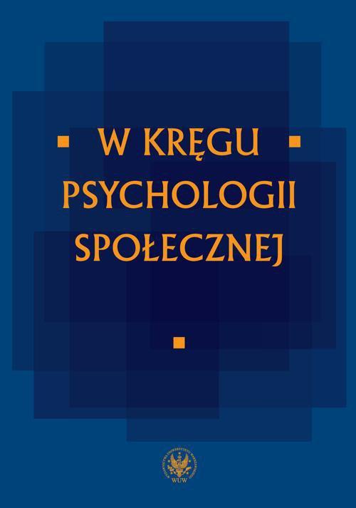 W kręgu psychologii społecznej - Ebook (Książka PDF) do pobrania w formacie PDF