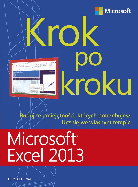 Microsoft Excel 2013 Krok po kroku - Ebook (Książka PDF) do pobrania w formacie PDF