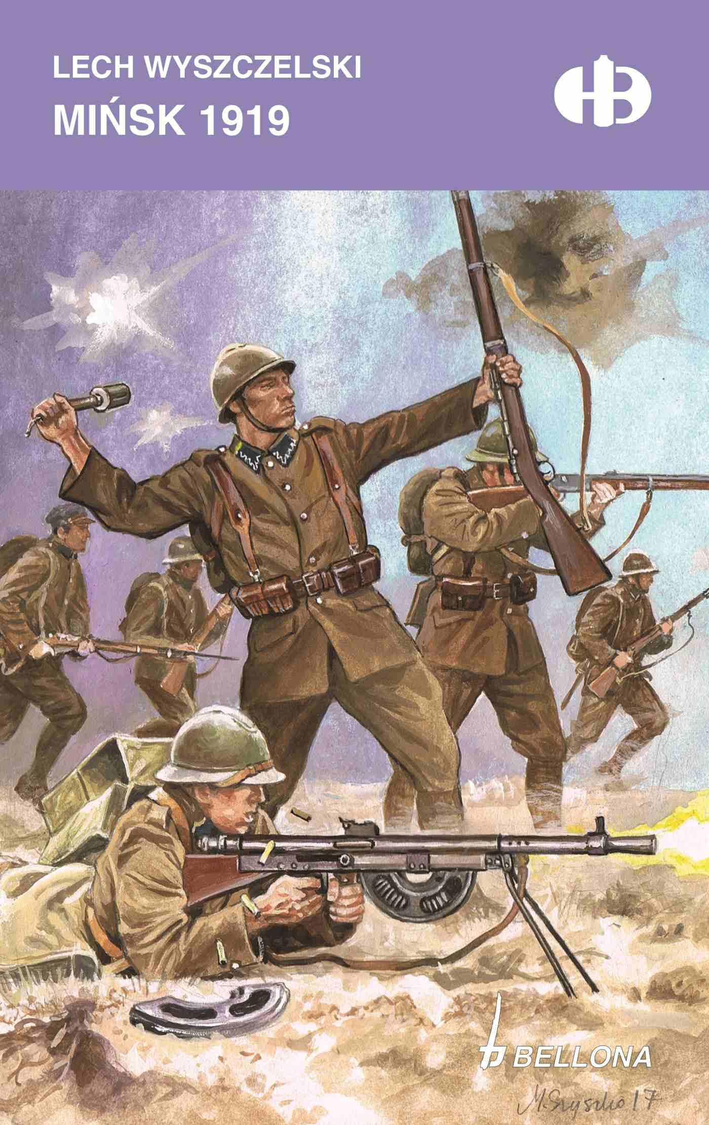 Mińsk 1919 - Ebook (Książka na Kindle) do pobrania w formacie MOBI