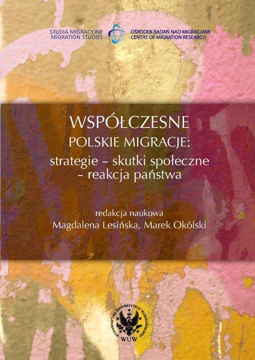 Współczesne polskie migracje - Ebook (Książka PDF) do pobrania w formacie PDF