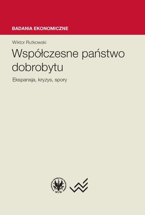 Współczesne państwo dobrobytu - Ebook (Książka PDF) do pobrania w formacie PDF