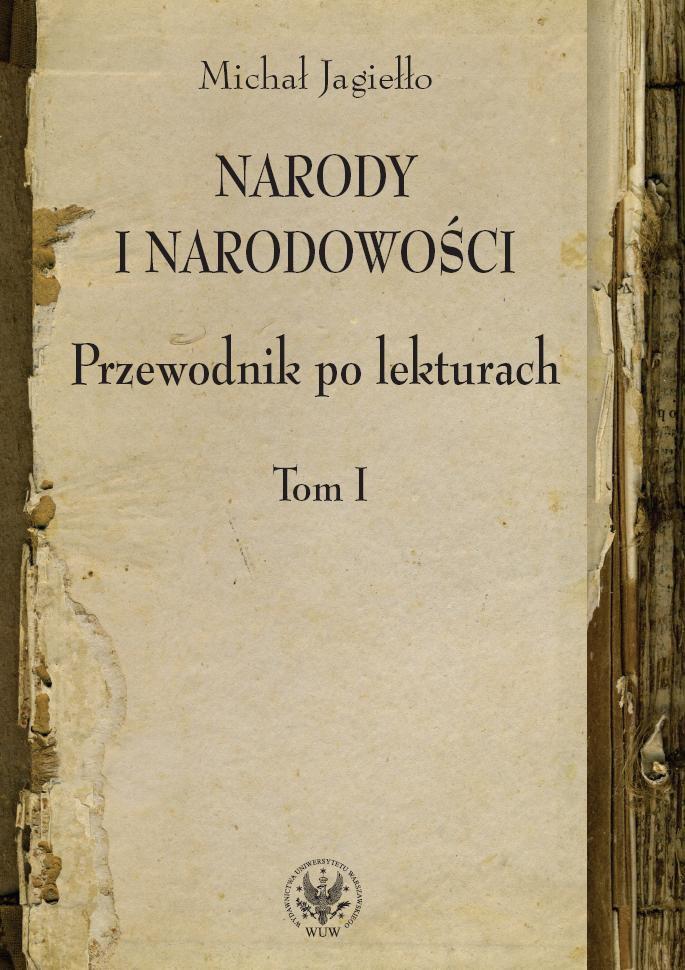 Narody i narodowości. Przewodnik po lekturach, t. 1 - Ebook (Książka PDF) do pobrania w formacie PDF