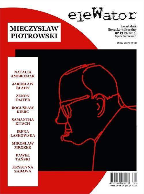 eleWator 13 (3/2015) - Mieczysław Piotrowski - Ebook (Książka PDF) do pobrania w formacie PDF